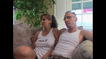 Watching mature wife take two cocks