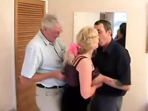 Mature couple swingers with big cock