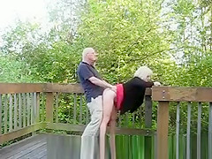Real mature couples fucking in public